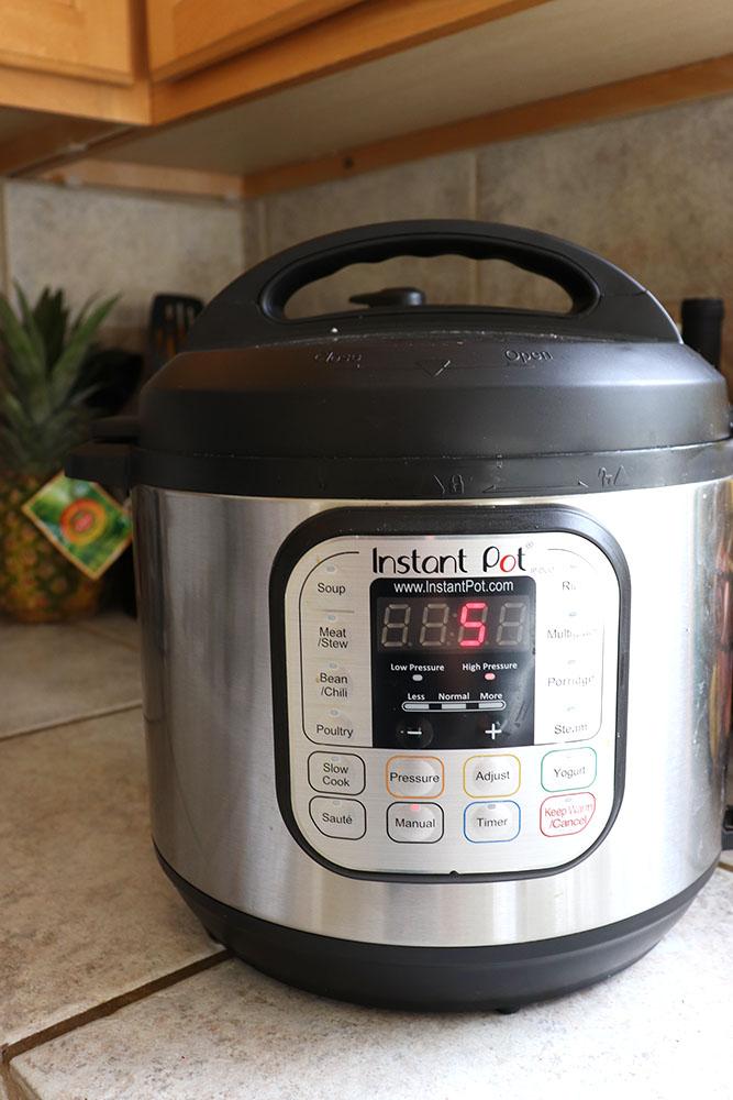 Instant Pot Hard Boiled Eggs | HomemadeandHappy.com