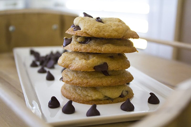 The best homemade chocolate chip cookies